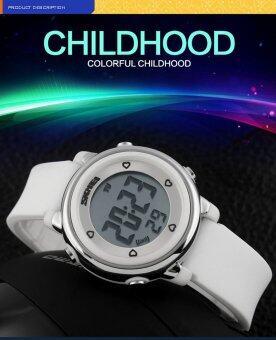 SKMEI แบรนด์นาฬิกา 1100 เด็กดิจิตอล LED นาฬิกา Relogio Feminino กีฬานาฬิกาเด็กการ์ตูนเยลลี่ Relojes Mujer กันน้ำนาฬิกาข้อมือ