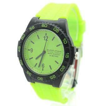 2561 Submariner นาฬิกาข้อมือชาย-ผู้หญิงและเด็ก สายยาง ระบบเข็ม - S-D02