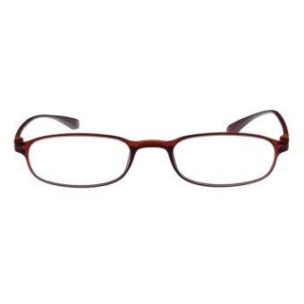 4ea5c0207ad Sunshop Flexible Light Comfortable Presbyopic Border ReadingGlasses Tea  Color Strength 1.0 - intl - 2 ...