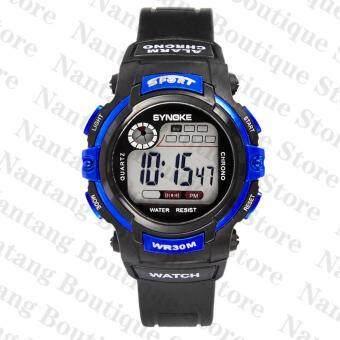 Synoke 99569 นาฬิกาข้อมือนาฬิกานักกีฬาว่ายน้ำด้วย led แบล็คไลท์ (image 2)
