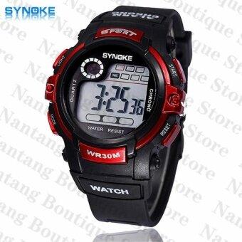 Synoke 99569 นาฬิกาข้อมือนาฬิกานักกีฬาว่ายน้ำด้วย led แบล็คไลท์ (image 0)