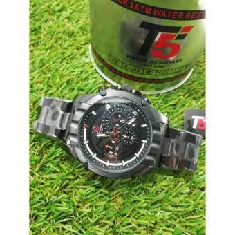 """ราคา นาฬิกาแฟชั่น T5 """"T030"""" P and P Fashion รับประกันสินค้าจากศูนย์,พร้อมกล่อง"""