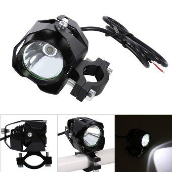 T6 Motorcycle LED Driving Headlight Fog Lamp Spot Light Black - intl
