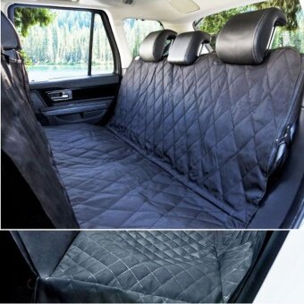 The car rear seat back cushion pad pet dog pet car trunk waterproof pad pad dirty ears with zipper - intl