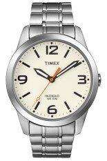 Timex Weekender นาฬิกาข้อมือผู้ชาย รุ่นT2N635 - White