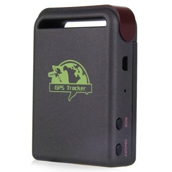 TK102B Car Vehicle GPS GSM GPRS Tracker (Black) - intl