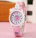 Top Brand Kids Children Fashion Watches Quartz Analog Cartoon Leather Strap Wrist Watch Boys Girls Waterproof - intl