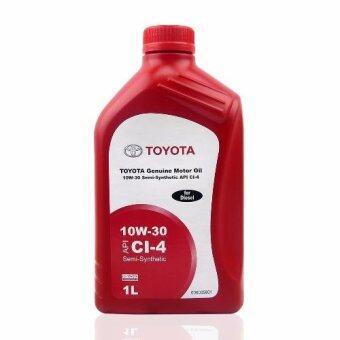 ซื้อ TOYOTA น้ำมันเครื่อง Motor Oil 10W-30 1 ลิตร