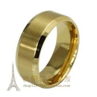 ทอง True เกาหลี Jianyue รุ่นชายและหญิงแหวนแหวนมันวาว