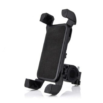 Universal Motorcycle MTB Bike Bicycle Handlebar Cell Phone MountHolder - intl