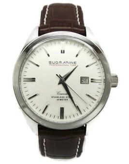 ซื้อ/ขาย US SUBMARINE นาฬิกาข้อมือ รุ่น MN.SUB203M - White/Brown