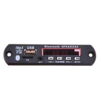 USB TF Radio Bluetooth MP3 WMA Decoder Board 12V Wireless Audio