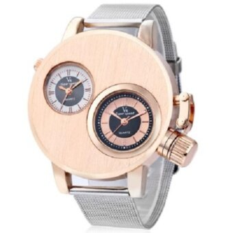 Harga V6 Super Speed V6010 Fashion Men Quartz Watch - GOLDEN - intl
