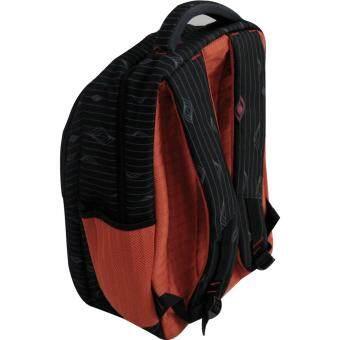 Van Burgh กระเป๋าเป้ กระเป๋าสะพายหลัง กระเป๋าเป้เดินทาง กระเป๋าโน๊ตบุ๊ค 18 นิ้ว รุ่น FEINIAO - A (สีดำ) - 3