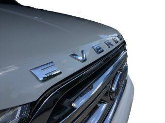 Visa ตัวนูนติดรถยนต์ 3D emblem Ford Everest 3D Type1 (Chrome) - 3