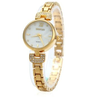 WeiQin W4806 Women Analog Quartz Wristwatch Rhinestone Scale - intl