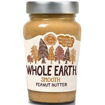 Harga Whole Earth Smooth Peanut Butter 340g