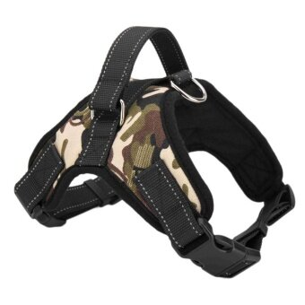 WONDERSHOP New Soft Adjustable Pet Large Non Pull Dog Walk Out Harness Vest Collar S/M/L/XL ( Size L ) - intl