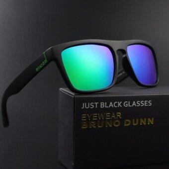 XYC 2017 new HD polarized bike sport cycling eyewear sunglasses 7001(black frame green lense - intl