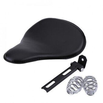 Harga YOSOO Motorcycle Solo Seat Kit with Springs and Bracket for HarleyXL883 XL1200 Bobber - intl